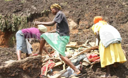Tragedy as mother, four children buried alive in Nandi