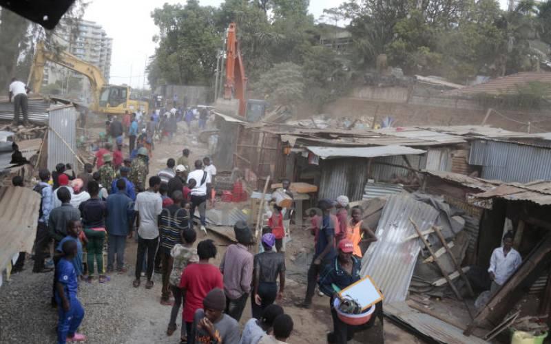 Trouble in Deep Sea as bulldozers flatten buildings