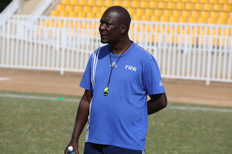Tusker coach Robert Matano admitted in ICU