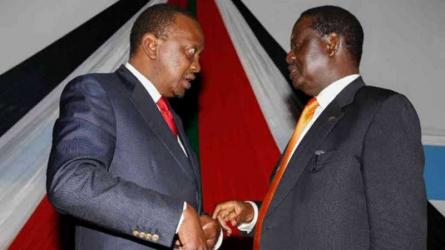 Uhuru and Raila's hidden hand as poll draws closer