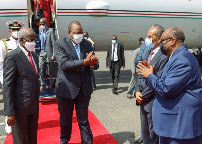 Uhuru attends Djibouti President's inauguration
