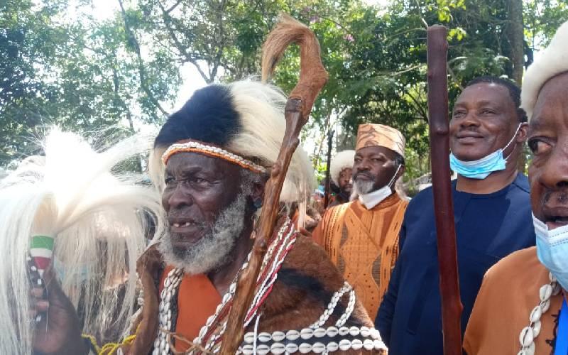 Uhuru knew about Muturi's coronation, elders say