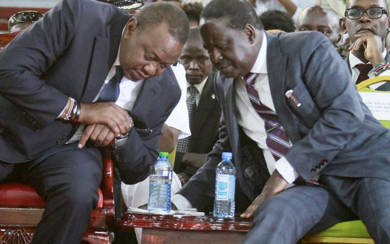 Blackmail: Uhuru, Raila crisis talks