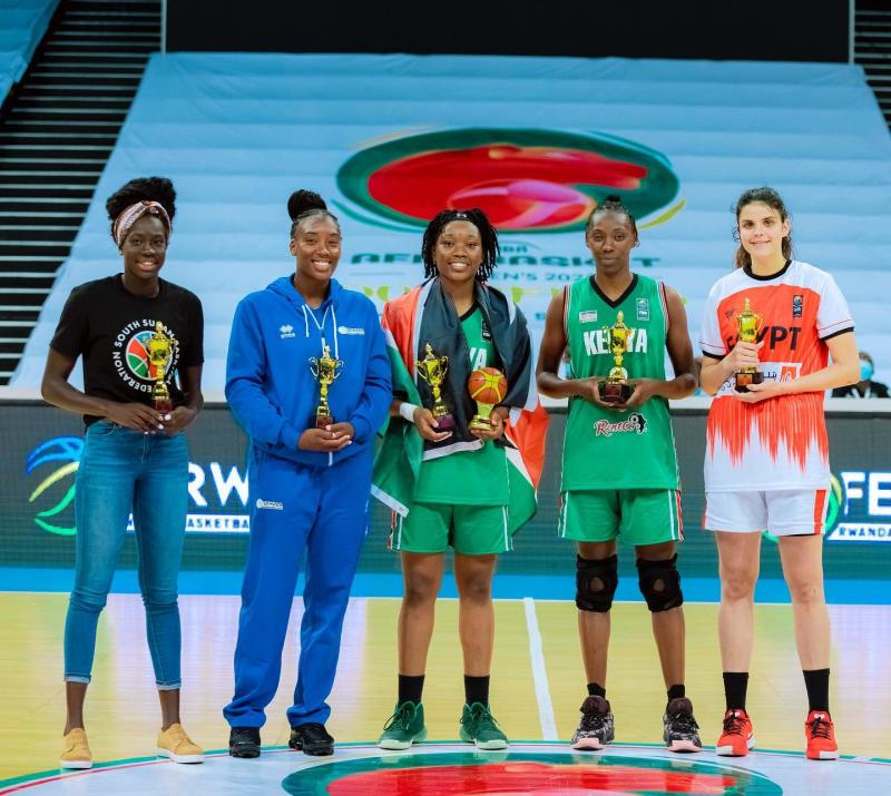 US based duo Reynolds and Koranga voted best players at Afrobasket
