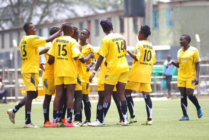 Vihiga Queens, Trans Nzoia kick off premier league second leg with wins