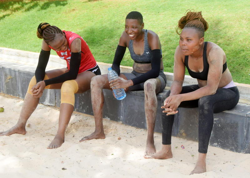 Volleyballers vaccinated ahead of trip to Morocco