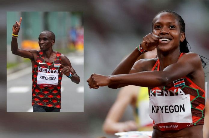 Vote for Kipchoge and Faith