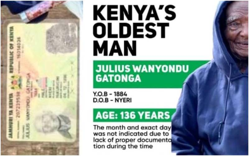 Was the oldest person on earth Kenyan and we didn't know it?