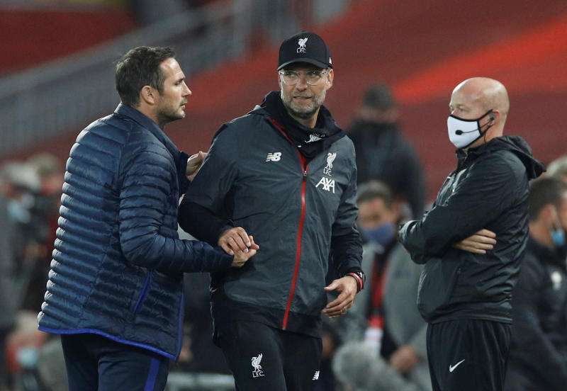 'We are not arrogant': Liverpool's Klopp hits back after Lampard jibe
