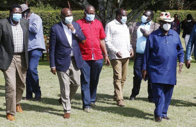 We will walk with you, Luhya leaders assure Gideon