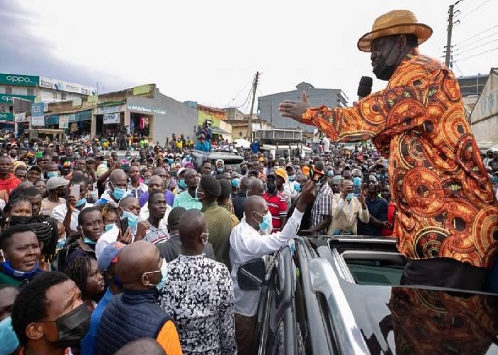Western Kenya politics: Raila, Malala clash