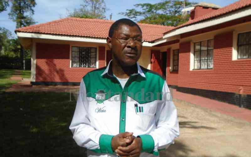 Wetang'ula struts boldly in Ford Kenya one year after coup
