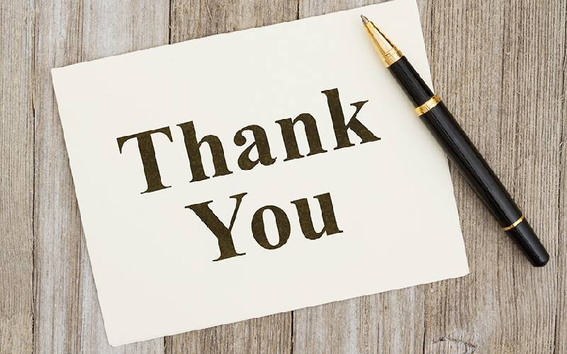 Why Kenyans find it hard to say 'thank you'