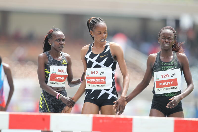 Will Kenyan women strike first ever Olympic steeplechase gold?