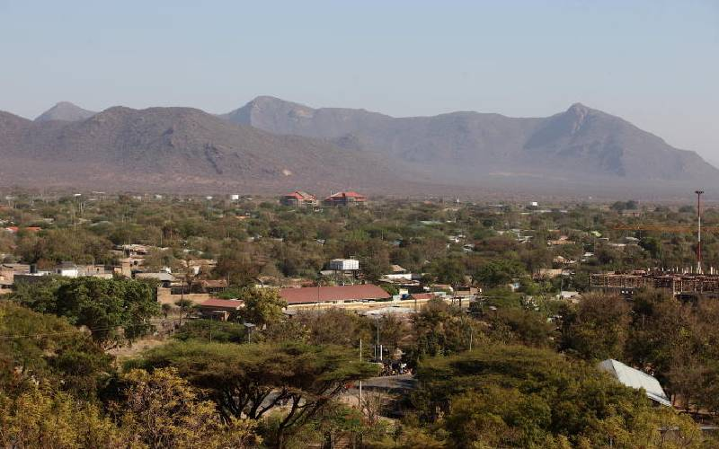 Winding road trip down to scenic Isiolo