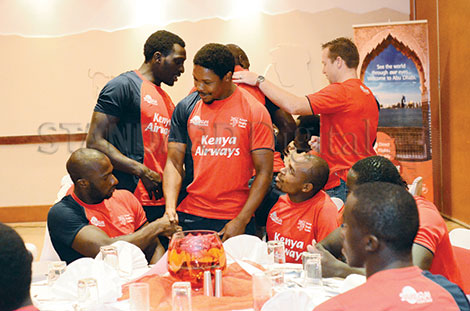 Kenya face rivals South Africa tomorrow
