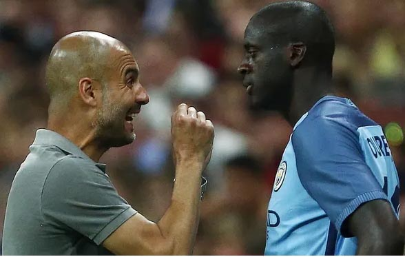 Yaya Toure attempts to end feud with Guardiola, pens letter
