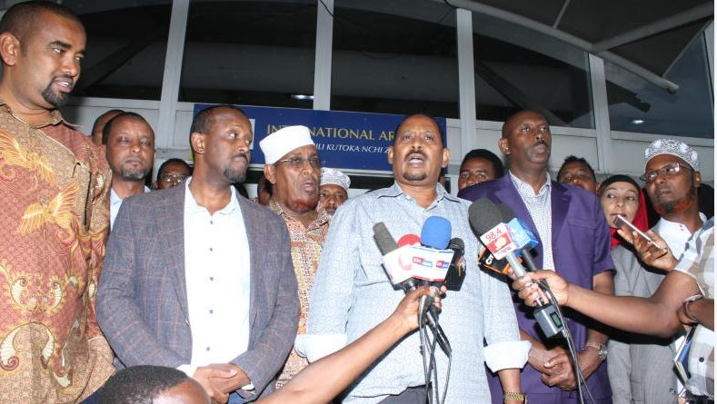 11 MPs freed after being grilled over 'secret' Somalia trip