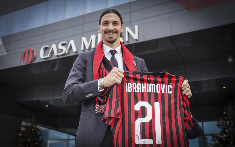 38-year-old Ibrahimovic reveals possible departure from Milan
