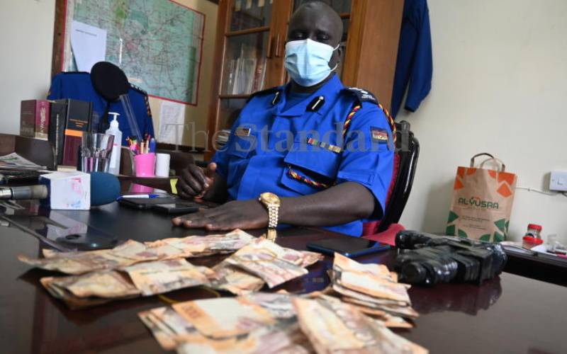 Police, NMS work to rid streets of parking boys and gamblers