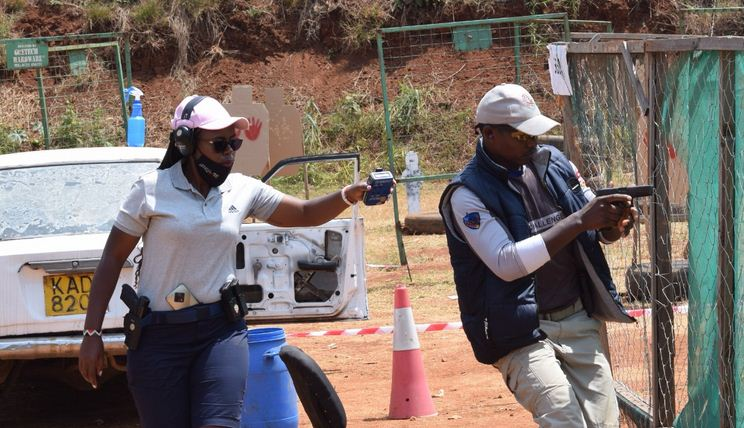 Shooters impress with skills at Dry run marking countdown to the IDPA African Championships