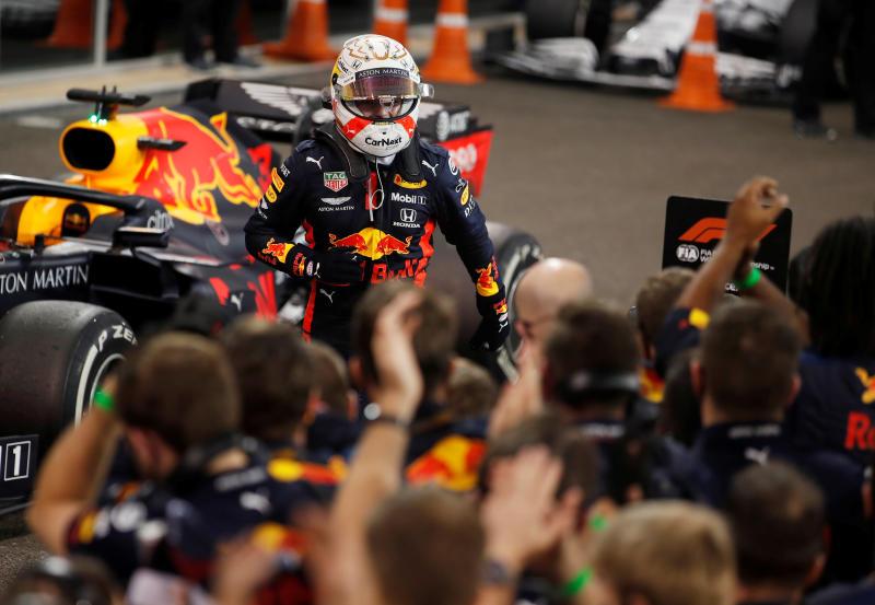 Abu Dhabi Grand Prix: World champion Lewis Hamilton third on his return