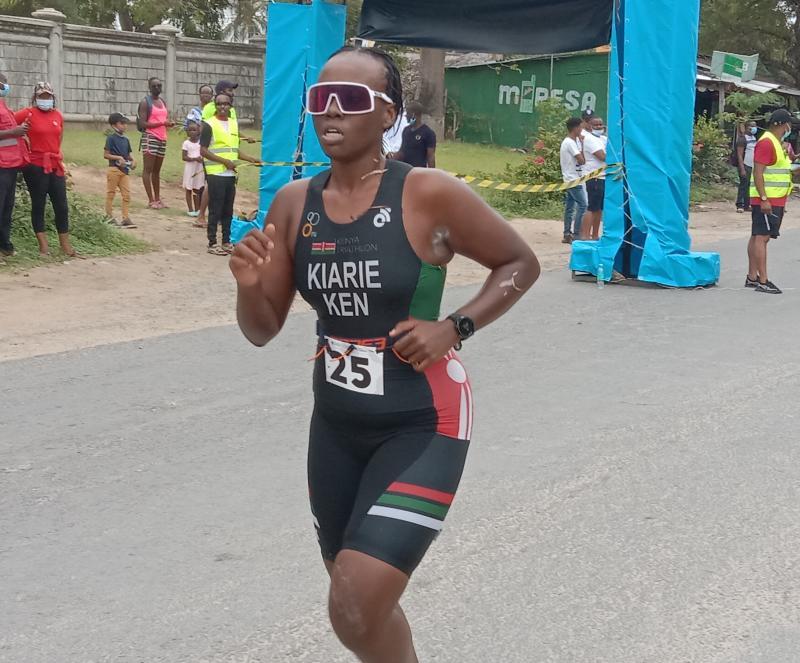 Africa Zone 2 and 4 Triathlon Championship: Njeri, Paul win Africa tournament