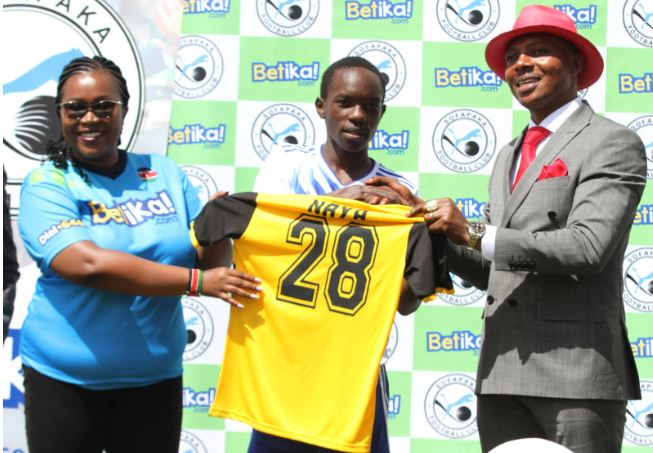 Ailing Sofapaka midfielder Naya determined to beat deadly cancer