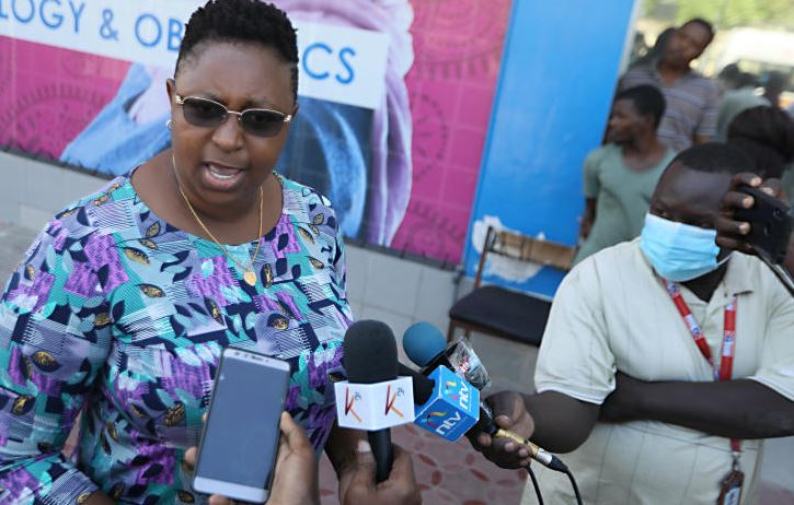 Aisha Jumwa emerges, to be charged tomorrow