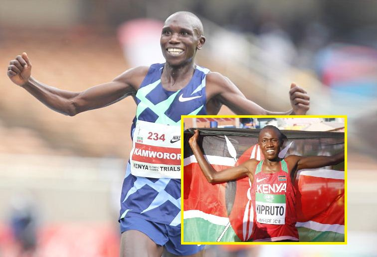 Rhonex Kipruto replaces Geoffrey Kamworor in 10,000 metres Olympics team