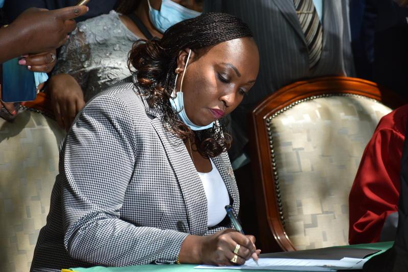 Ann Kananu set to be sworn as Nairobi governor