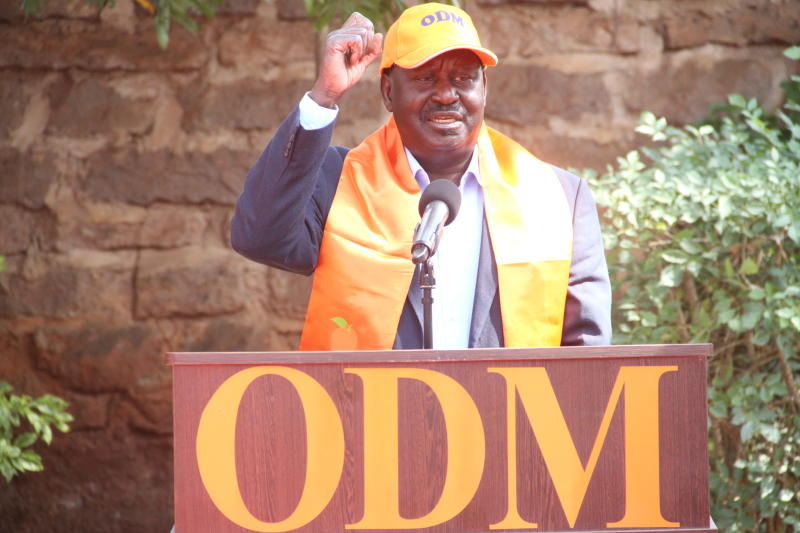 Applicants in ODM presidential ticket to pay Sh1 million