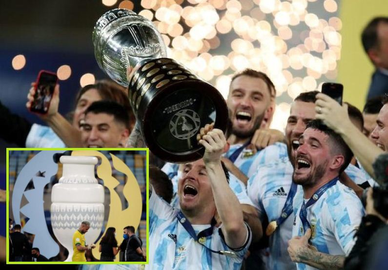 Argentina beat Brazil 1-0 to win Copa America