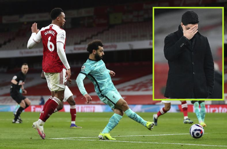 Arteta in shock after Arsenal thumped by Liverpool
