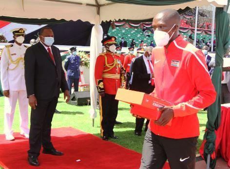 Athletes Cheruiyot, Ndereba get Jamhuri Day honours