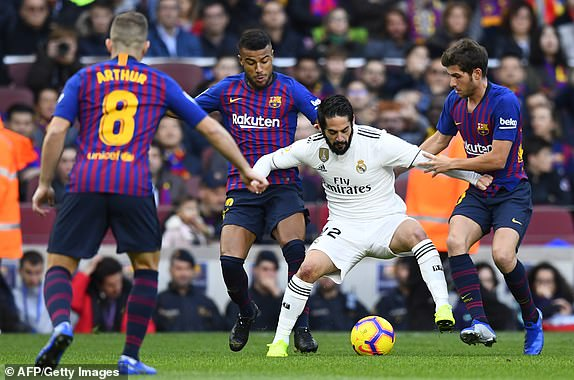 The Standard - Kenya: Barcelona 5 - 1 Real Madrid: Barca ...