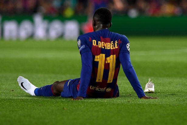 Barcelona slash asking price for flop forward Ousmane Dembele