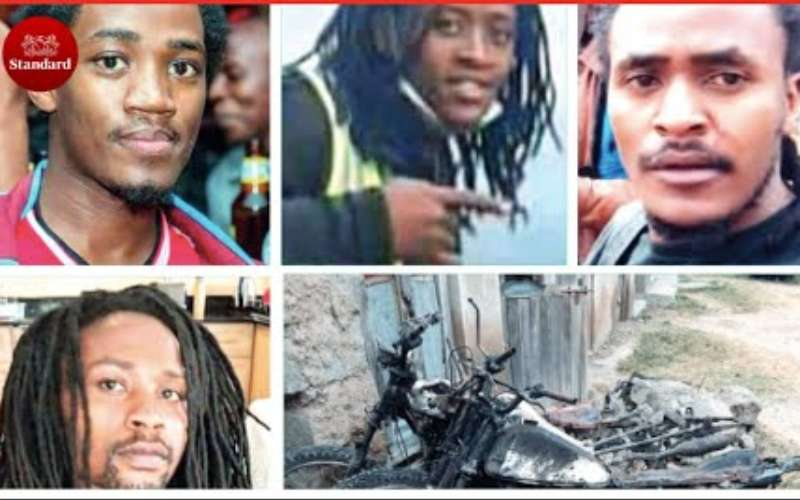 Bikers protest murder of four mistaken for cattle thieves in Kajiado