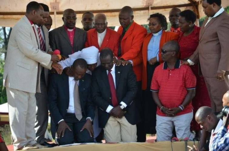Bishops who prayed for UhuRuto in 2013 baffled by their fallout