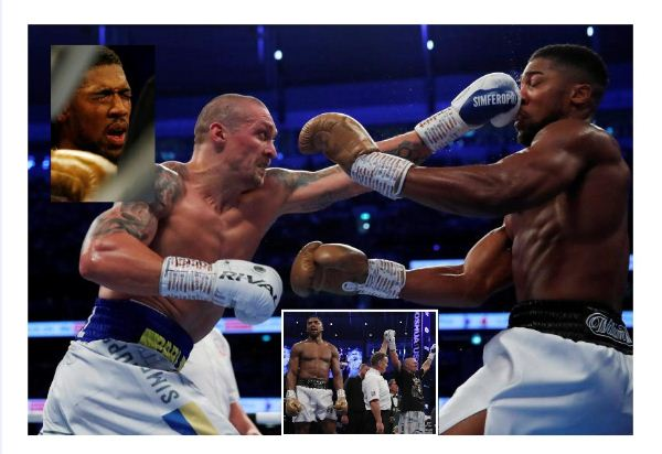 Boxing: Usyk defeats Joshua to claim world heavyweight title