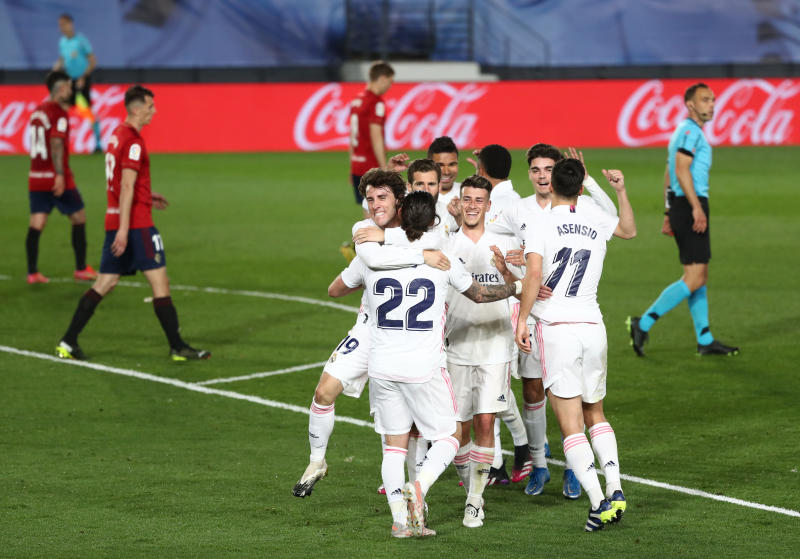 Boys from Brazil power Real to win over Osasuna
