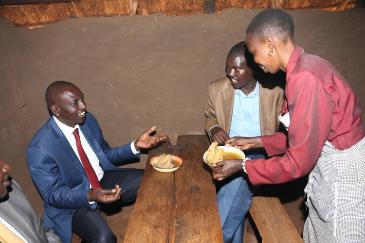 Bypass construction displaces chicken soup traders