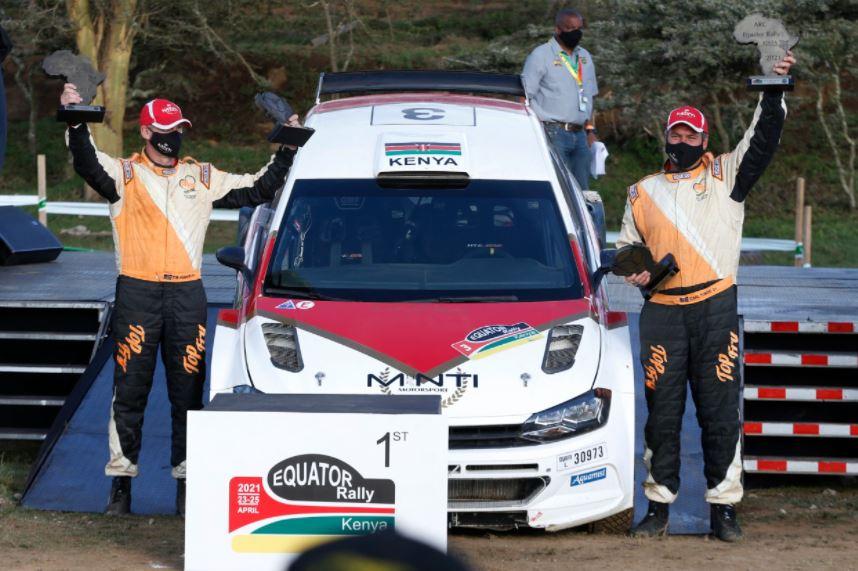Carl 'Flash' Tundo wins ARC Equator Rally