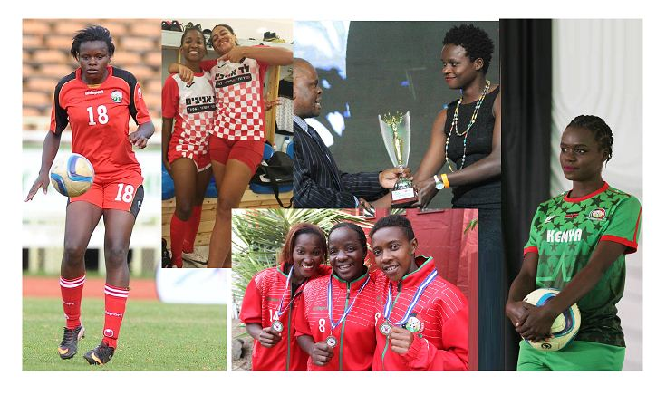 Celebrating Women: Kenyan female footballers turn heads in European clubs