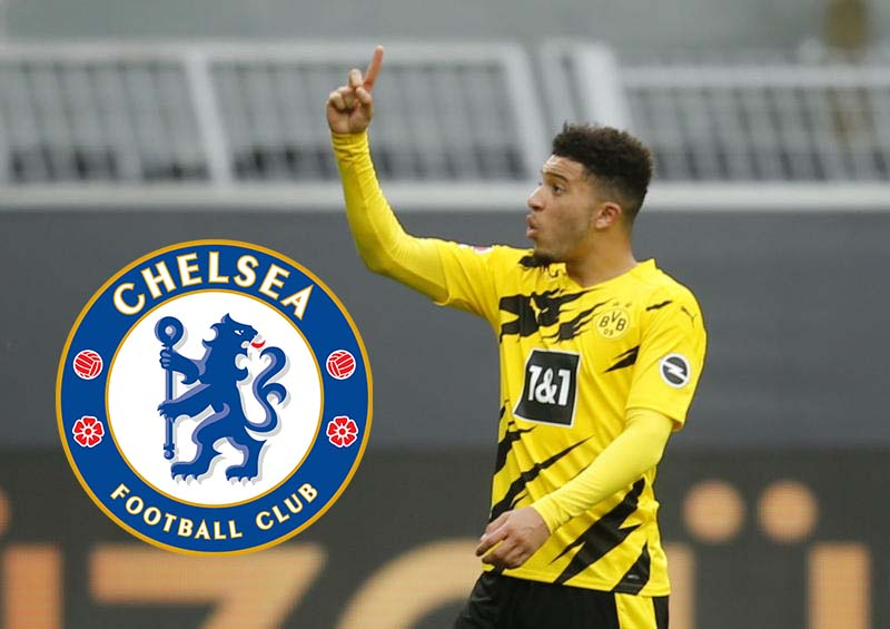 Chelsea join the race for Dortmund ace Sancho