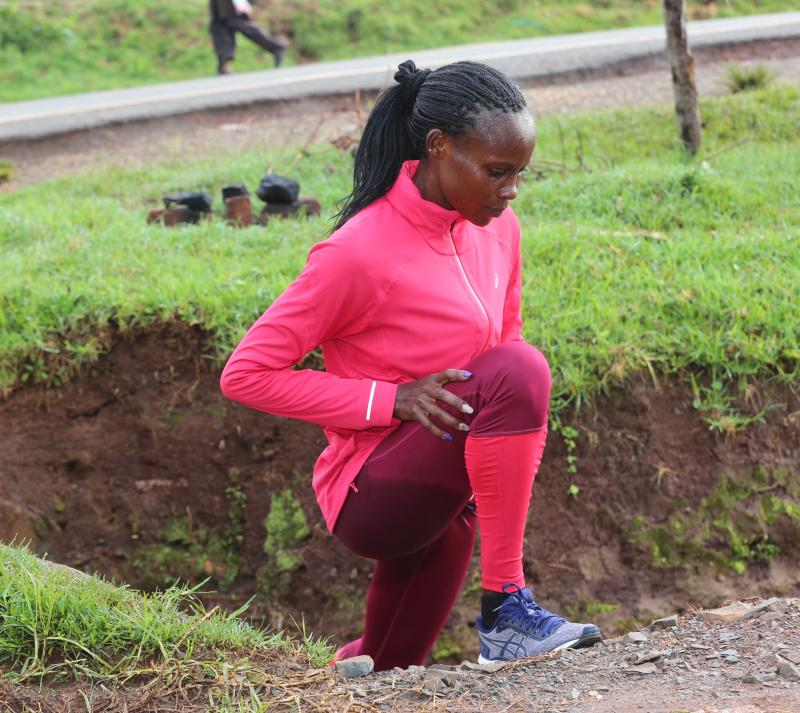 Cherono gears up to make a strong return