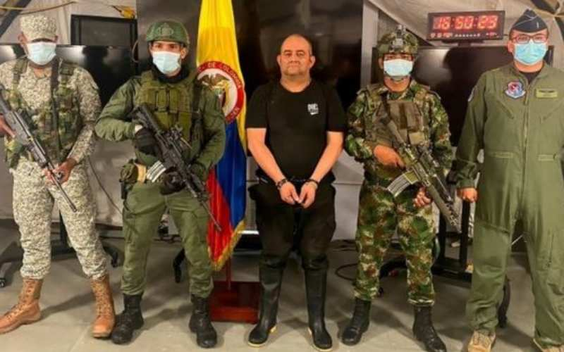 Colombia's most-wanted drug trafficker arrested
