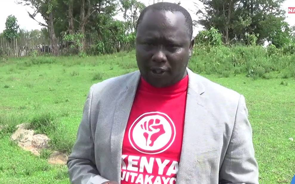 Comedian Mulmulwas arrested over hate speech in Kapenguria, brought to Nairobi