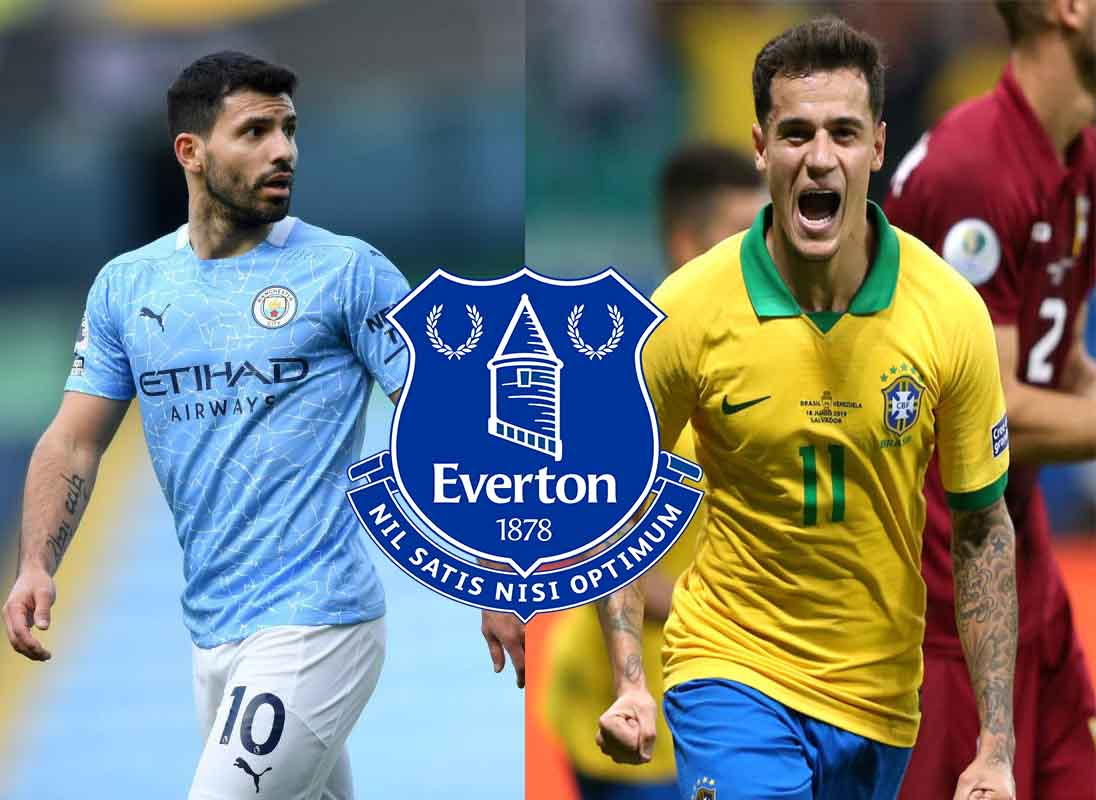 Coutinho, Aguero linked with shock moves to Everton