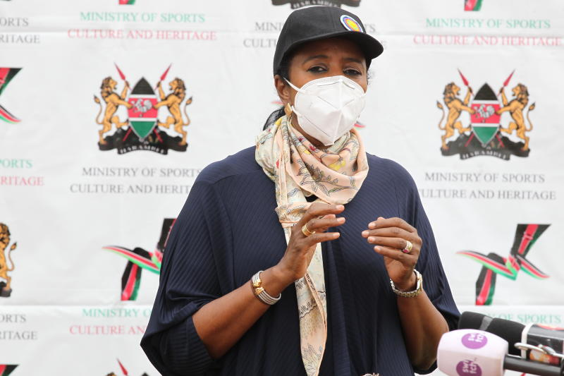 CS Amina: Distribution of relief food is not a Rift Valley project